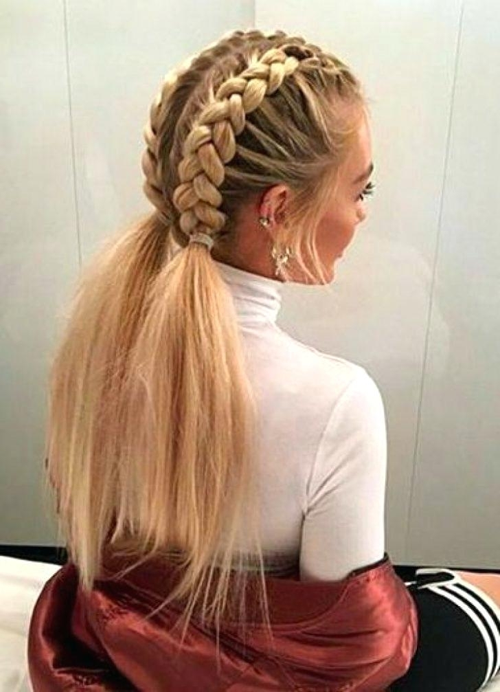 Braid Styles For White Hair To Fresh Photograph Of White Girl Braid With Regard To Most Recent Braided Hairstyles For White Hair (View 11 of 15)