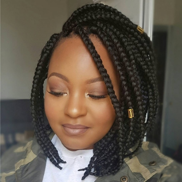 Braided Bob Hairstyles Braided Bob Hairstyles 2017 Creative Pertaining To Current Braided Bob Hairstyles (View 13 of 15)