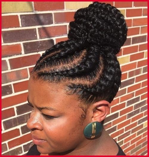 Braided Bun Black Hairstyles 158924 70 Best Black Braided Hairstyles Inside Most Recently Black Braided Bun Hairstyles (View 13 of 15)