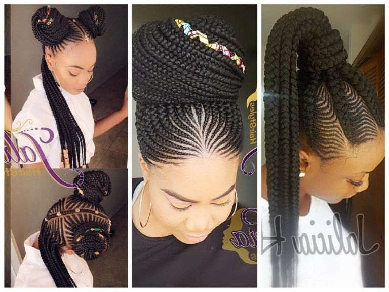 Braided Cornrow Hairstyles: The Best Styles You Will Love – Wedding Intended For Most Current Cornrows Hairstyles For Wedding (View 3 of 15)