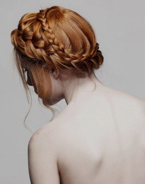 Braided Crown Hairstyles | Memories: Reminds Me Of My Kids Throughout Most Up To Date Twin Braid Updo Hairstyles (View 10 of 15)