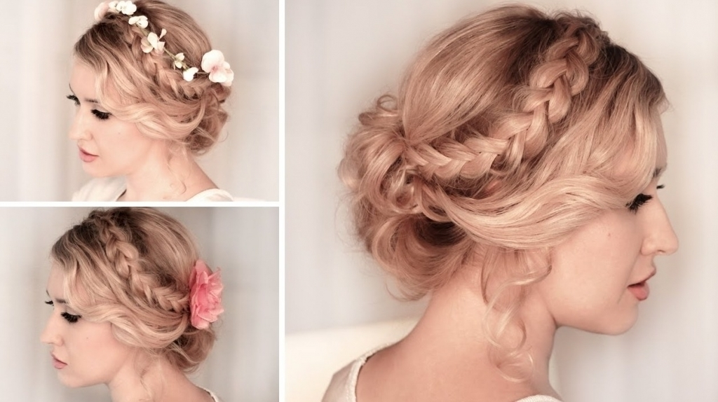 Braided Hairstyle For Bridesmaids Braided Hairstyles For Weddings With Regard To Recent Braided Hairstyles For Bridesmaid (View 11 of 15)
