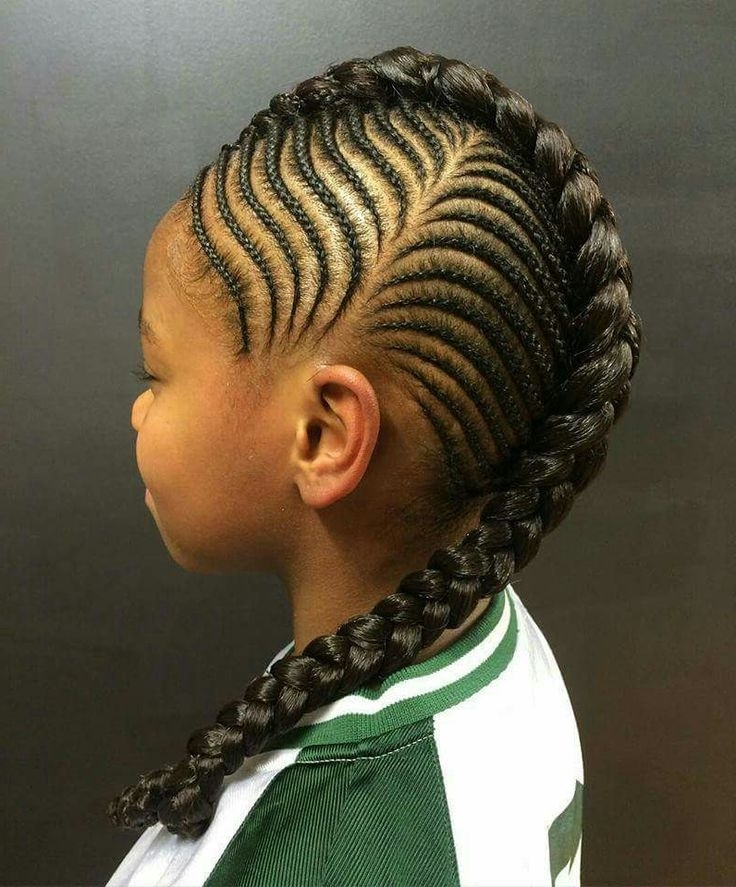 Braided Hairstyles Around The Head – Applying Pretty Braided With Regard To Current Braided Hairstyles For Girls (View 15 of 15)