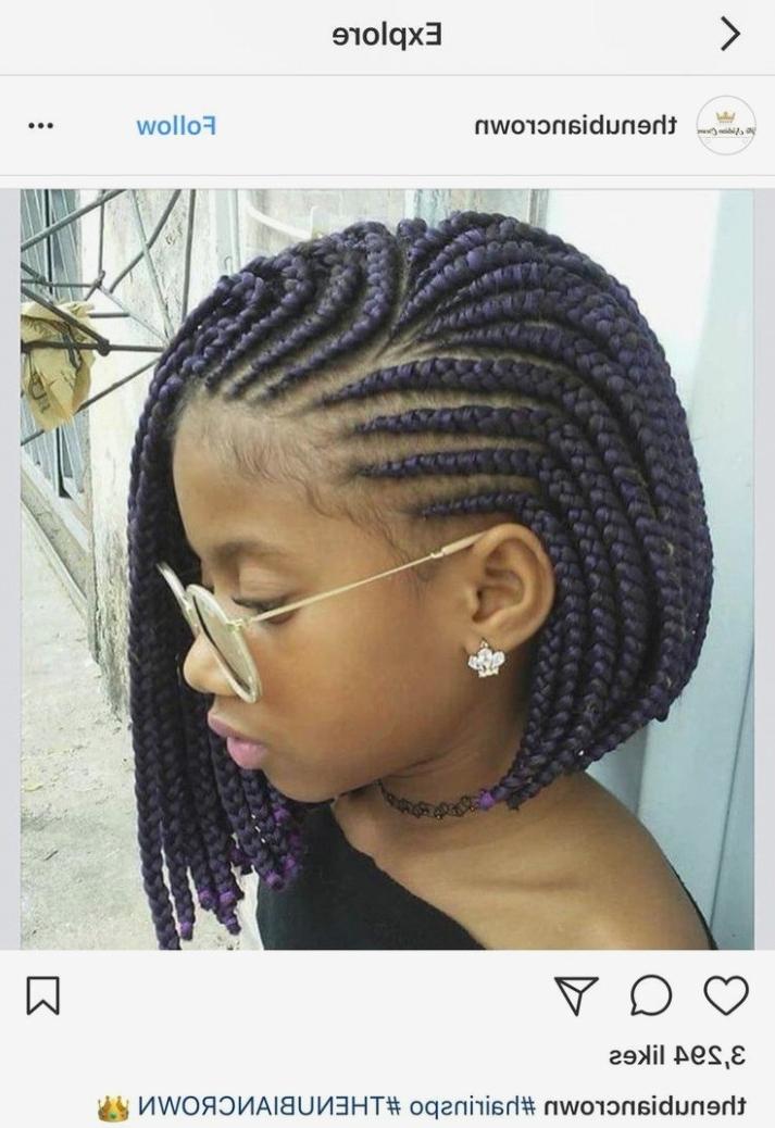 Braided Hairstyles Black Hair Luxury Best 11 Black Girl Braided In Most Popular Braided Hairstyles For Black Girls (View 14 of 15)