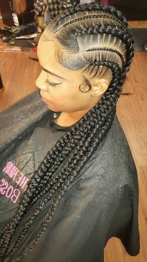 Braided Hairstyles For Black Girls – 30+ Impressive Braided For Newest Braided Hairstyles For Girls (View 9 of 15)