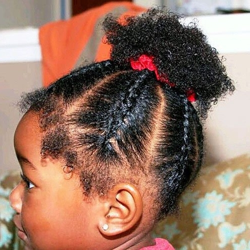 Braided Hairstyles For Black Girls – 30+ Impressive Braided Throughout Best And Newest Braided Hairstyles For Little Black Girl (View 11 of 15)