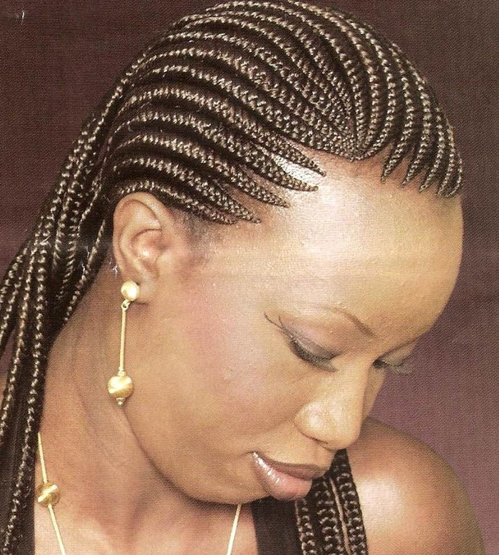 Braided Hairstyles For Black Women Over 50 | Hair Care | Pinterest With Most Recent Braided Hairstyles For Women Over (View 9 of 15)
