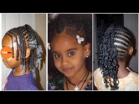 Braided Hairstyles For Little Black Girls – Ideas About Black Kids With Most Up To Date Braided Hairstyles For Little Black Girl (View 3 of 15)