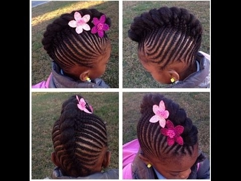 Braided Hairstyles For Little Girls : Your Kid's Hairstyles – Youtube In Most Up To Date Braided Hairstyles For Little Girl (View 14 of 15)