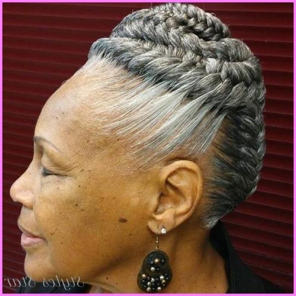 Braided Hairstyles For Older Women – Stylesstar ® In Best And Newest Braided Hairstyles For Older Ladies (View 6 of 15)