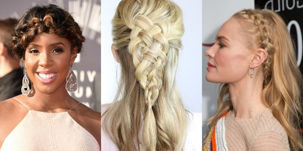 Braided Hairstyles For Summer | Glam & Gowns Blog With Most Current Braided Glam Hairstyles (View 9 of 15)