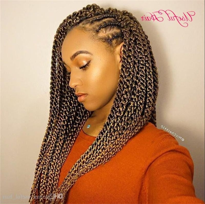 Braided Hairstyles Kenya Awesome 2018 3D Cubic Twist Synthetic Throughout Best And Newest Kenyan Braided Hairstyles (View 10 of 15)