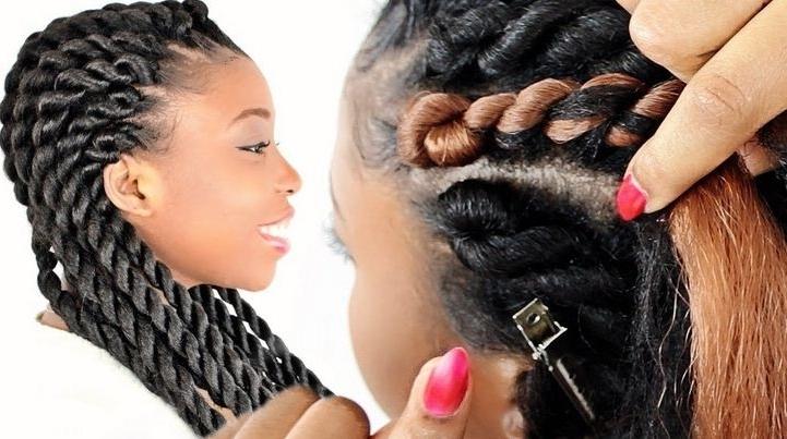 Braided Hairstyles Kenya Beautiful Cornrow Braids In Kenya How To In Current Kenyan Cornrows Hairstyles (View 7 of 15)