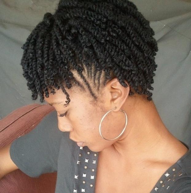 Braided Hairstyles Short Natural Hair Braiding Hairstyles For Short In Current Braided Hairstyles For Short Natural Hair (View 11 of 15)