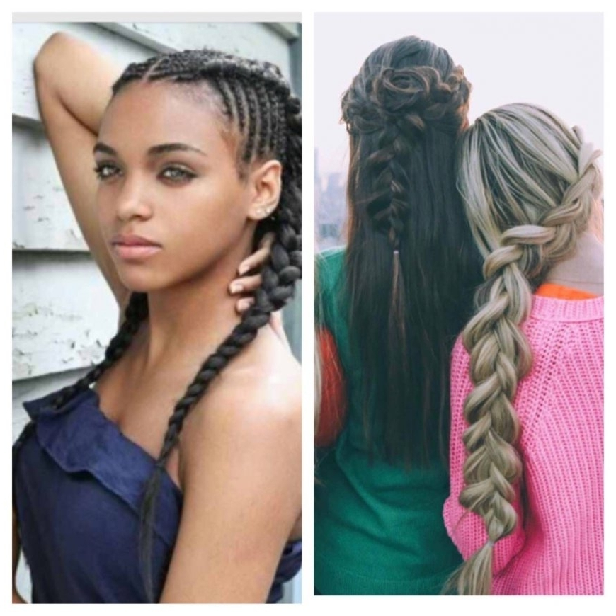 Braided Hairstyles Teenage Girls – Women Medium Haircut With Regard Within Most Recent Braided Hairstyles For Girls (View 11 of 15)