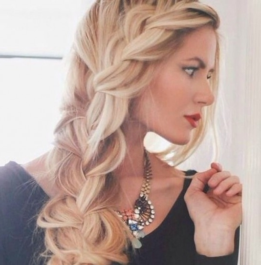 Braided Hairstyles To Bring Your Dream Hairstyle Into Your Life In Inside Most Up To Date Braided Hairstyles To The Side (View 10 of 15)