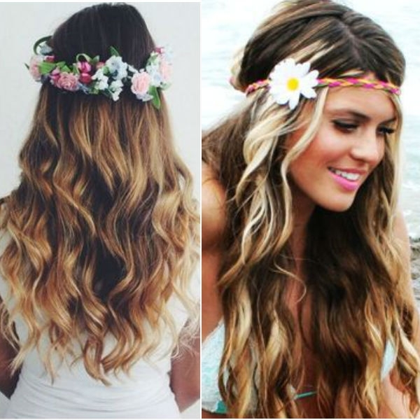 Braided Hairstyles Vpfashion Intended For Most Popular Braided Crown With Loose Curls (View 12 of 15)