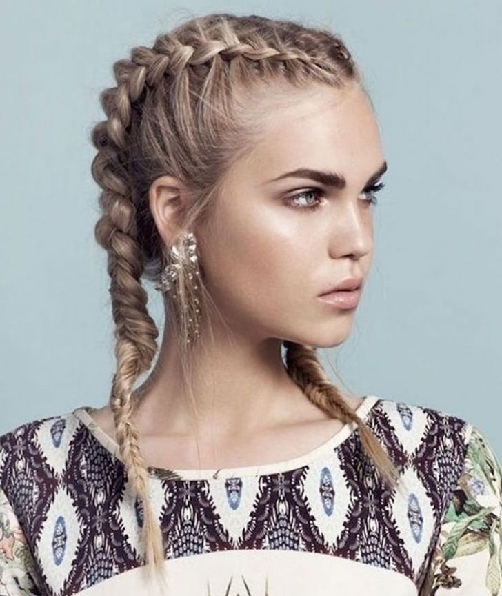 Braided Pigtail Hairstyles Remarkable – Philtercommunications Inside Current Pigtails Braided Hairstyles (View 8 of 15)