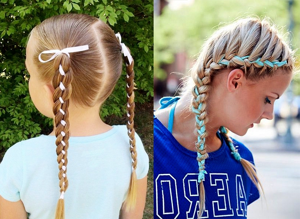 Braided Pigtails: 7 Cool Hair Ideas Throughout Most Recent Braided Pigtails (View 10 of 15)