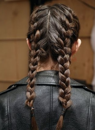 Braided Pigtails: Fishtail Vs (View 3 of 15)