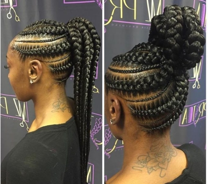 Braided Up Hairstyles With Weave 715 Best Braids Images On Pinterest Pertaining To Best And Newest Braided Up Hairstyles With Weave (View 5 of 15)