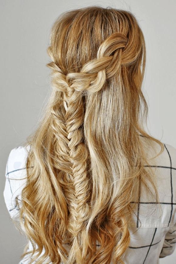 Braided Wedding Hairstyle Ideas Via Missy Sue | Deer Pearl Flowers Inside Recent Missy Sue Braid Hairstyles (View 11 of 15)