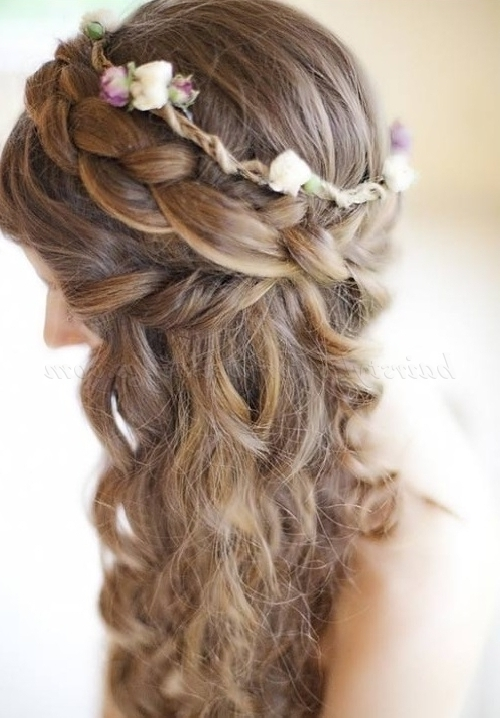 Braided Wedding Hairstyles – Braided Wedding Hairstyle | Hairstyles Intended For Most Popular Braided Hairstyles For Bridesmaid (View 4 of 15)