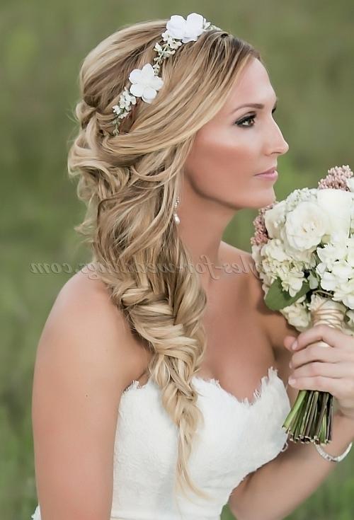 Braided Wedding Hairstyles – Braided Wedding Hairstyle | Hairstyles With Recent Braided Hairstyles For Bridesmaid (View 9 of 15)