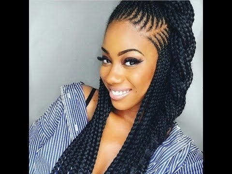 Braiding Hairstyles – Rostweb Within Latest Plaits Hairstyles Youtube (View 15 of 15)