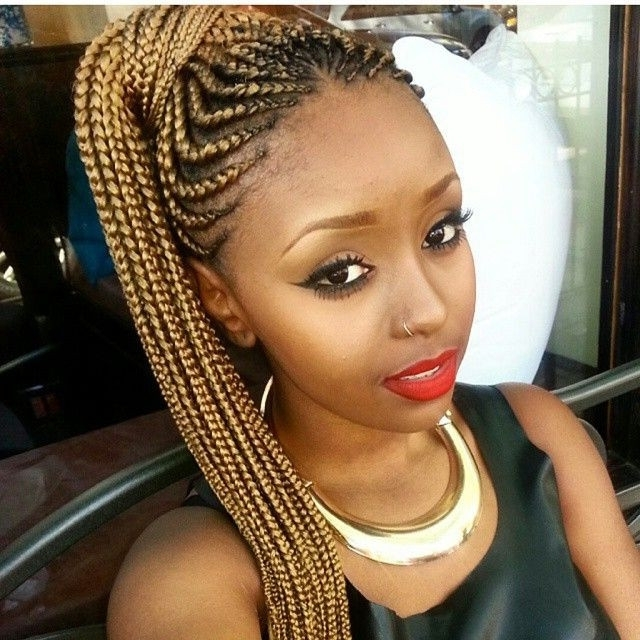 Braiding Hairstyles With Weave 2017 Awesome 474 Best Braided Up Regarding Recent Queen Braided Hairstyles (View 9 of 15)