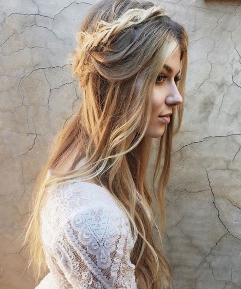 Braids For Long Hair: The Best Styles From Instagram With Newest Boho Braided Hairstyles (View 12 of 15)