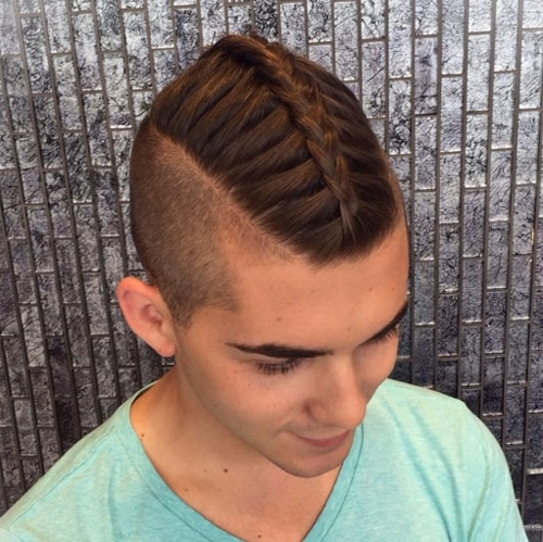 Braids For Men – 15 Braided Hairstyles For Guys For Most Up To Date Braided Hairstyles For Mens (View 6 of 15)
