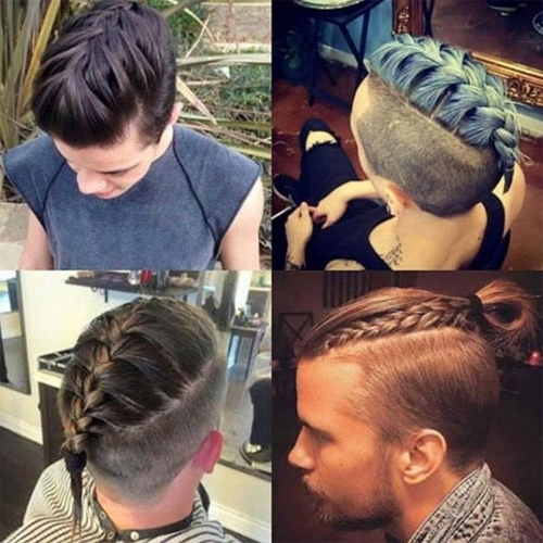 Braids For Men – 15 Braided Hairstyles For Guys Within Newest Braided Hairstyles With Tapered Sides (View 14 of 15)