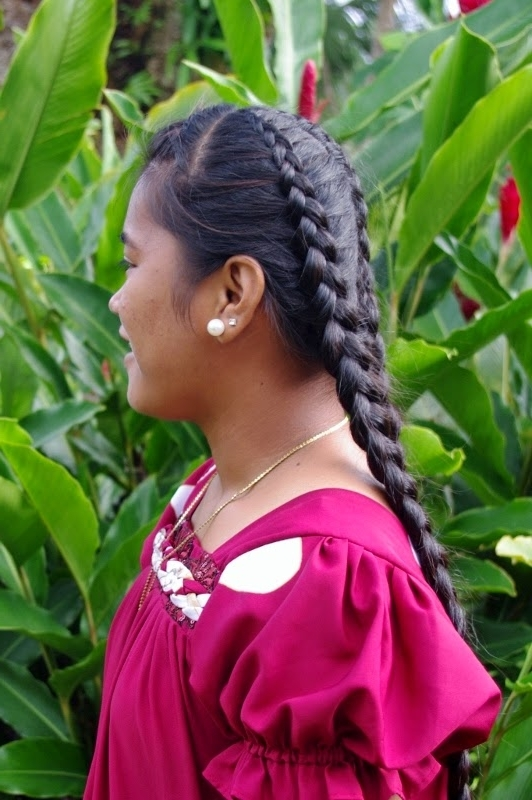 Braids & Hairstyles For Super Long Hair: Micronesian Girl For Most Up To Date Pocahontas Braids Hairstyles (View 7 of 15)