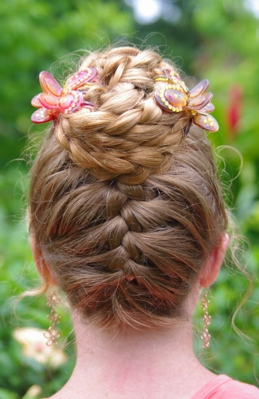 Braids & Hairstyles For Super Long Hair: Upside Down French Braid For Latest Upside Down French Braid Hairstyles (View 14 of 15)