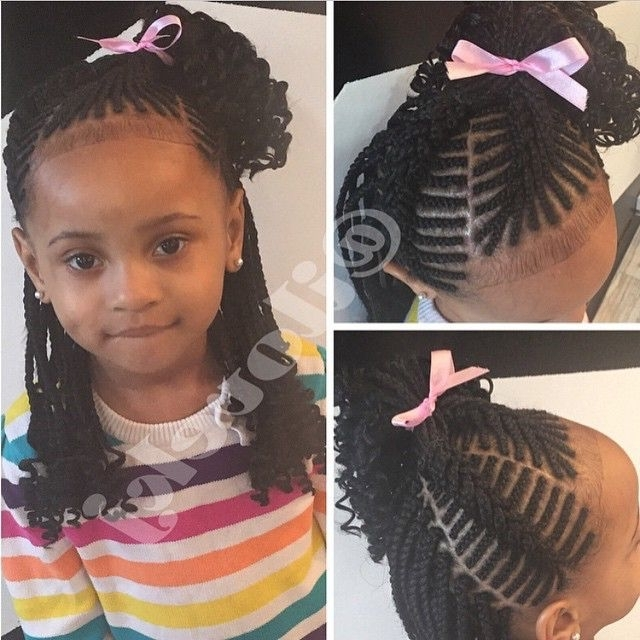 Braids Hairstyles Little Girls 1107 Best Children Hairstyles Images Regarding Latest Braided Hairstyles For Little Girl (View 12 of 15)