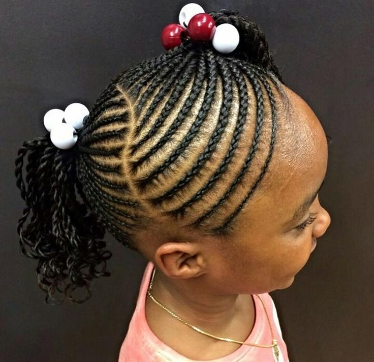 Braids Hairstyles Little Girls 152 Best Fashion The Kids Salon With Most Recent Braid Hairstyles For Little Girl (View 12 of 15)