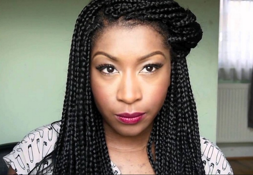 Braids Have Damaged My Edges, What Can I Do? | Kinkycurlycoilyme! Throughout Most Recently Braided Hairstyles Cover Bald Edges (View 13 of 15)