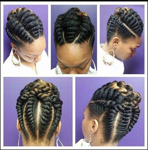 Brilliant Hair Braiding Models For Working Women Intended For Most Popular Cornrows Hairstyles For Work (View 3 of 15)