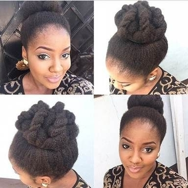 Bulky Braided Crown Bun | Top Braid Hairstyles For Black Women Are With Regard To Most Current Bulky Braided Crown Bun (View 4 of 15)
