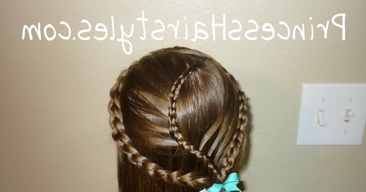 Cage Braids, Curvy French Braided Cascading Veil – Hairstyles For With Recent Long Curvy Braids Hairstyles (View 9 of 15)