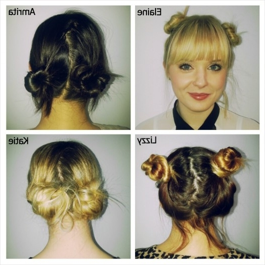 Cancantdont – Baby Spice Buns | Ccdpr Beauty For Most Popular Double Bun Mohawk With Undercuts (View 14 of 15)