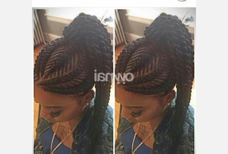 Carrot Hairstyle With Puff For Sale | Ownai For Most Recently Carrot Cornrows Hairstyles (View 12 of 15)