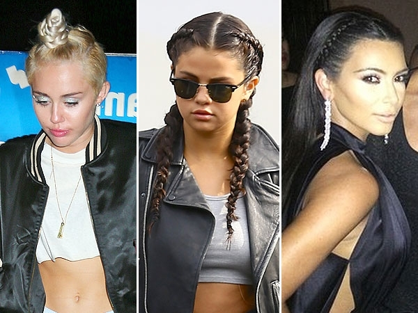 Celebrity Braid Hairstyles, Best Braids Of Summer, Kim Kardashian In Most Up To Date Kim Kardashian Braided Hairstyles (View 9 of 15)