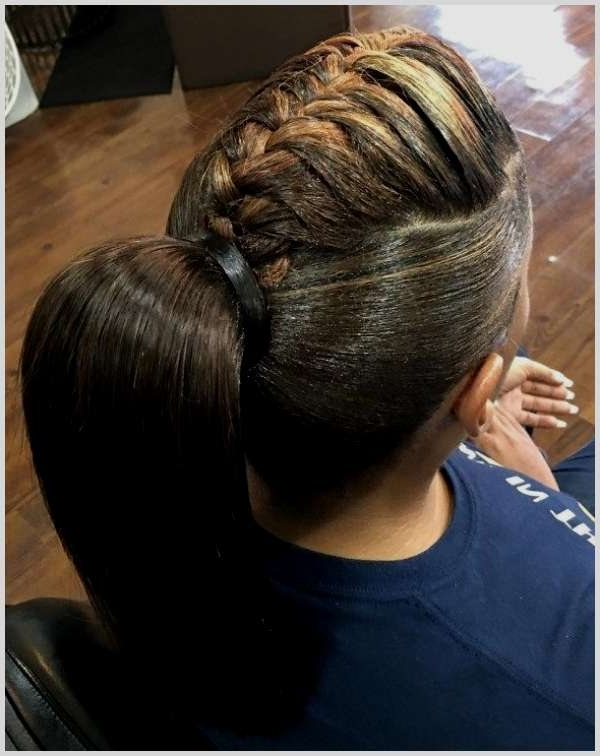 Characteristics Of Braid Hair Up Into Ponytail – Hairstyle Idea Throughout 2018 Braided Hairstyles Up In A Ponytail (View 13 of 15)