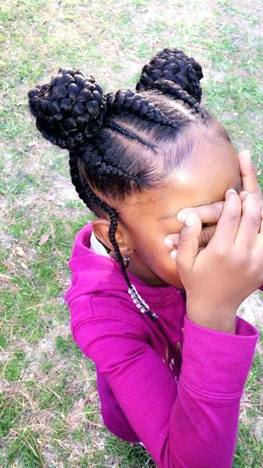 Children Braid Hairstyles Pictures Stunning Kids Braided Hairstyles Throughout Most Recent Braided Hairstyles For Kids (View 7 of 15)