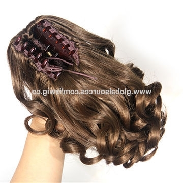 China Two Tone Color Synthetic Hair Updo Easy Ponytail Ideas Braid Within Most Popular Two Tone Braided Pony Hairstyles (View 10 of 15)