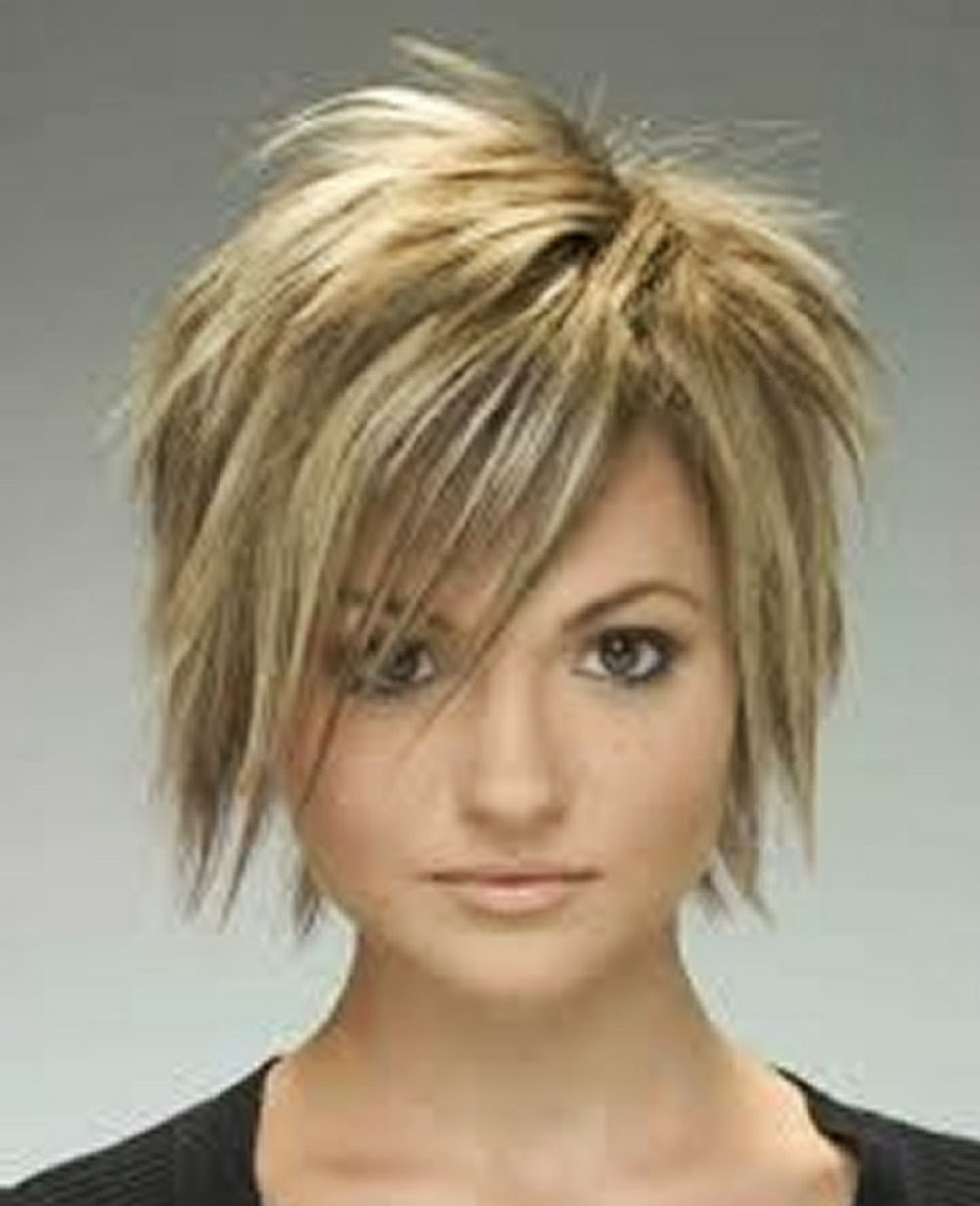 Explore Gallery Of Choppy Pixie Haircuts With Side Bangs Showing 4