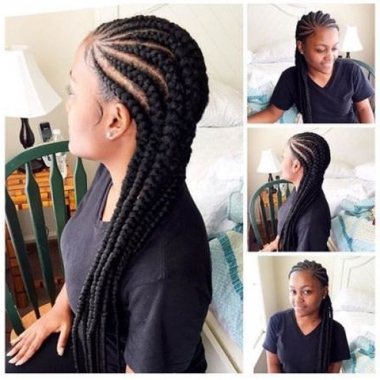 Chunky Cornrow Hairstyles For Performances At Night   Right Hs With Regard To Recent Chunky Cornrows Hairstyles (View 1 of 15)