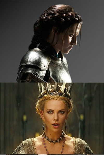 Copy Charlize Theron's And Kristen Stewart's Braided Hairstyles From With Regard To Newest Queen Braided Hairstyles (View 12 of 15)